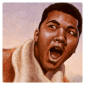 Cassius Clay: Float Like a Butterfly, Sting Like a Bee - client: Sports Illustrated