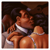 Harlem Slow Dance - client: Dellas Graphics Calendar